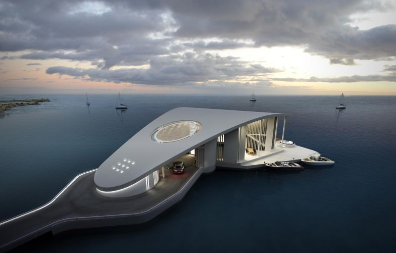 Built to enjoy mesmerizing views around