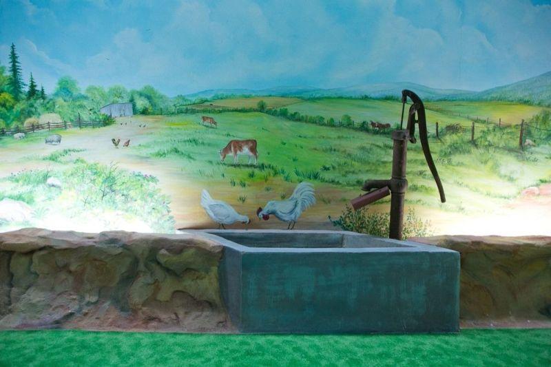 Portrays rural aspect