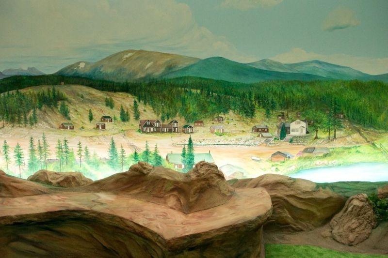 Painting of amazing landscape