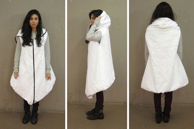 Three-in-one Wearable Shelter
