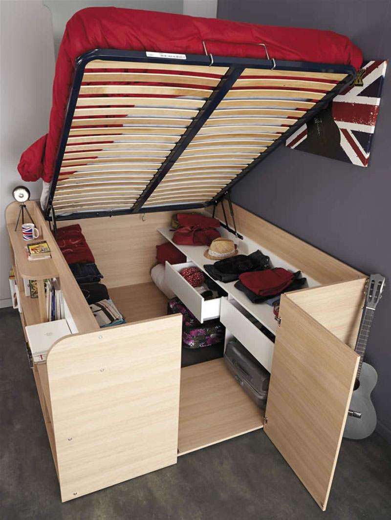 Enough storage space