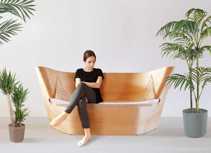 Wing Sofa by Akos Huber