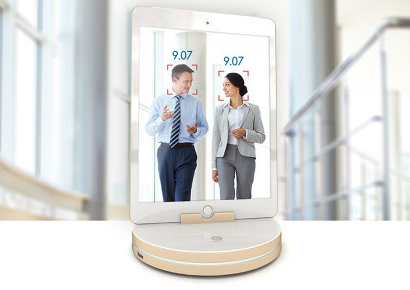 Face recognition and time detection features