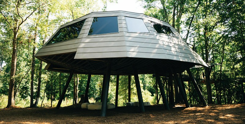 Zac Brown's Space Crab Treehouse