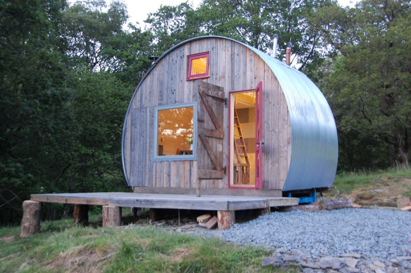 caban Crwn Tiny Home