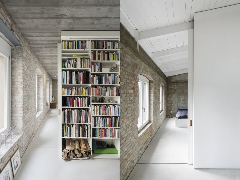 A modern home fused with historic architecture_2
