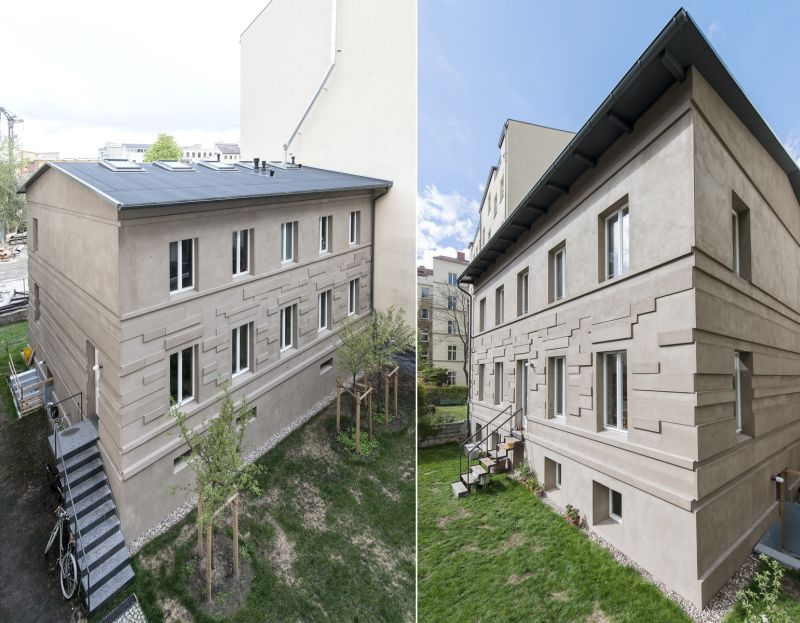 A modern home fused with historic architecture_245