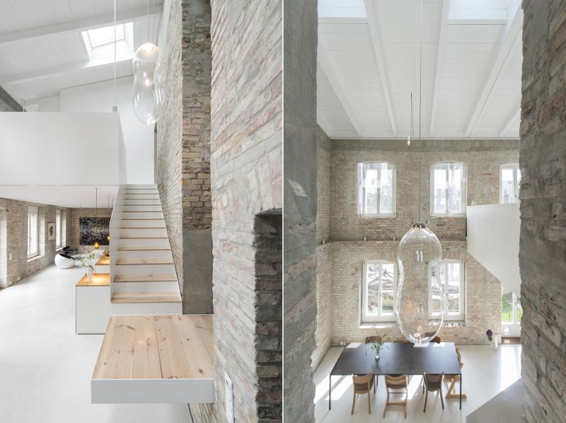 A modern home fused with historic architecture_4