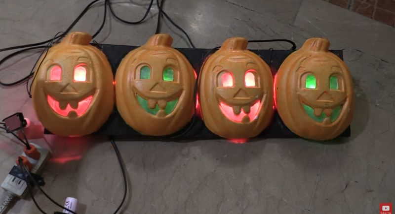 How to Create Flickering Incandescent Bulbs for Halloween