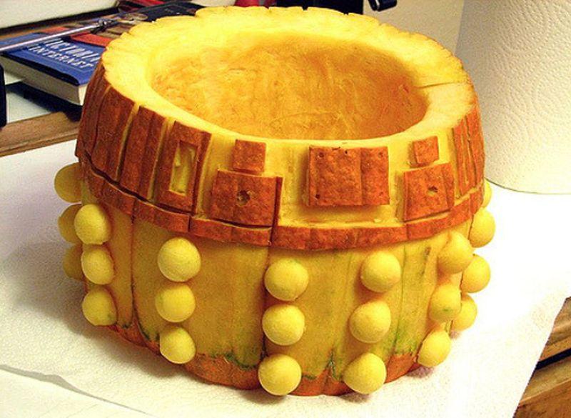 Dalek Halloween Pumpkin