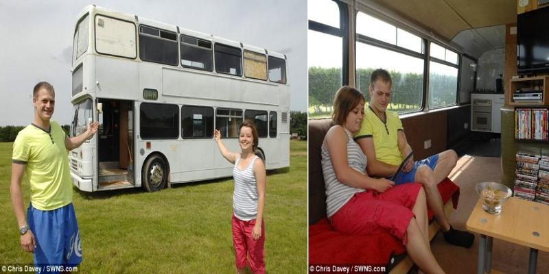 Double Decker Bus Home