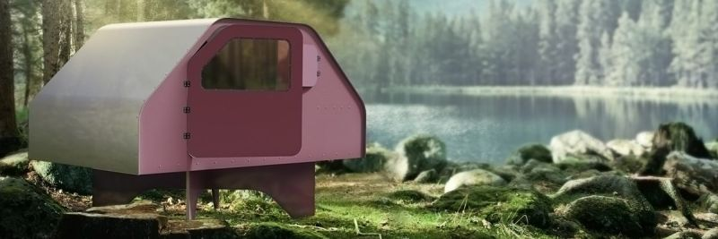 Explore newest place in world in this colorful tiny home