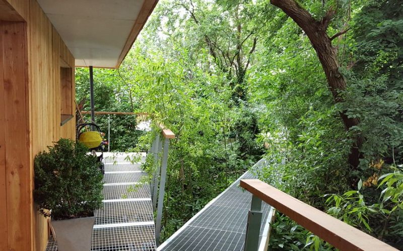 Dursley treehouse is nature-inspired home by Millar + Howard Workshop_1