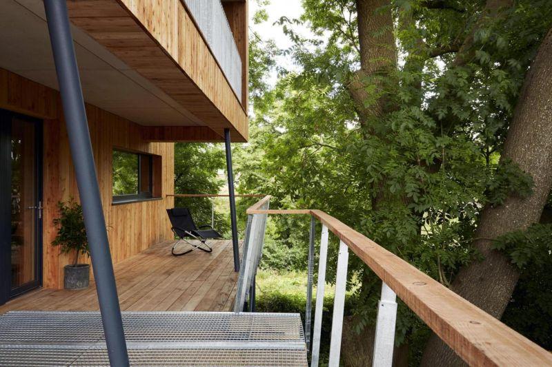 Delightful verandah all around the house