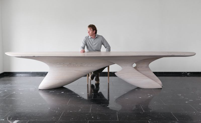 Erosion V Dining Table by Joseph Walsh