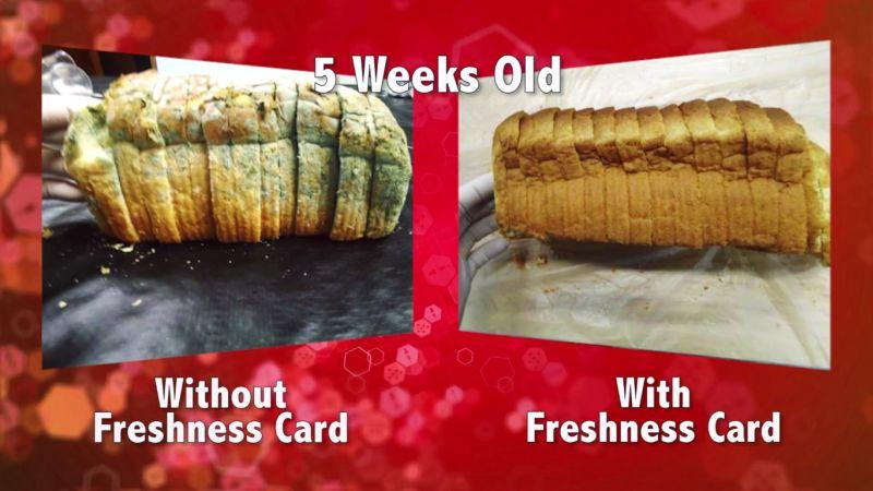 Keeps breads fresh for longer