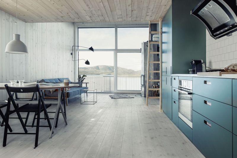 Elegant cabinetry for storing essentials