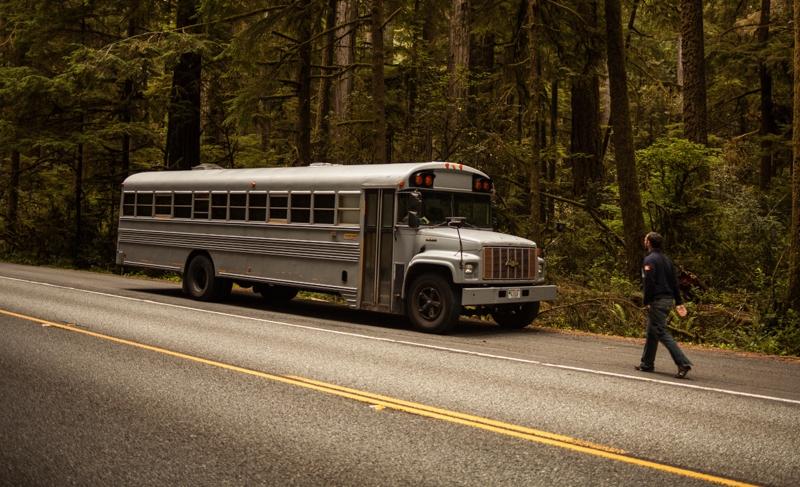 Hank Butitta bus home