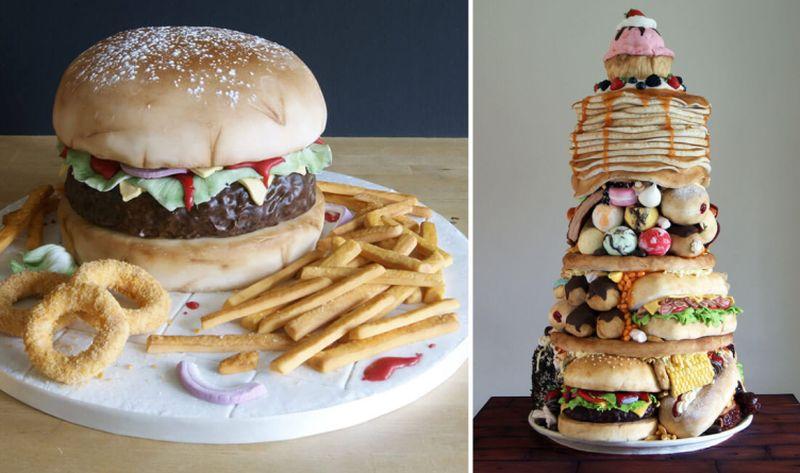 Junk Food Cakes