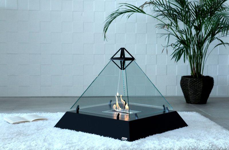 LOUVRE Fireplace by bioKamino