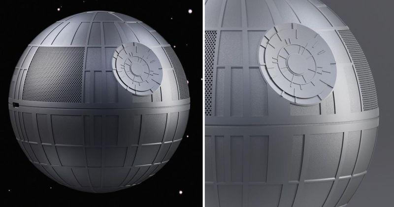 Levitating Death Star Speaker