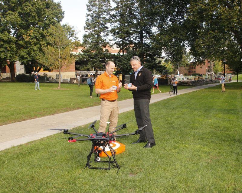 Orange Leaf Frozen Yogurt gets a drone to deliver froyo in Michigan
