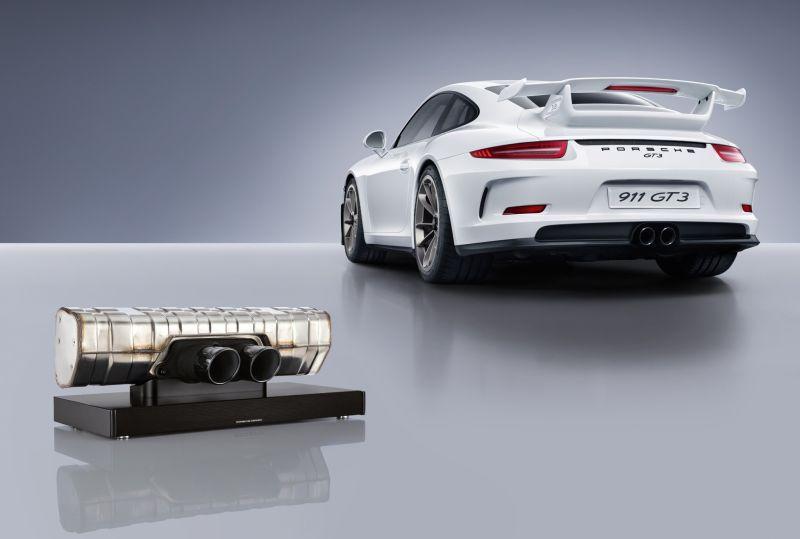 Porsche 911 GT3 soundbar