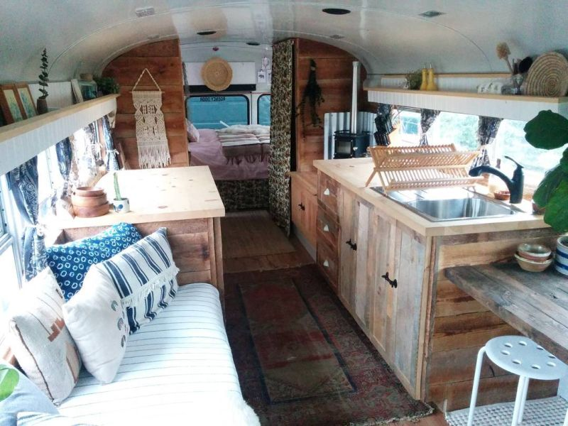 School Bus Conversion on a Budget