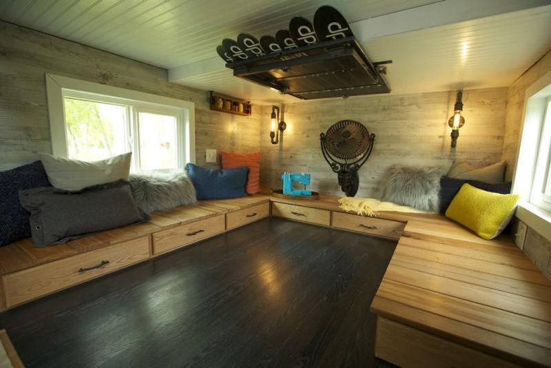 The Tiny Ski Lodge