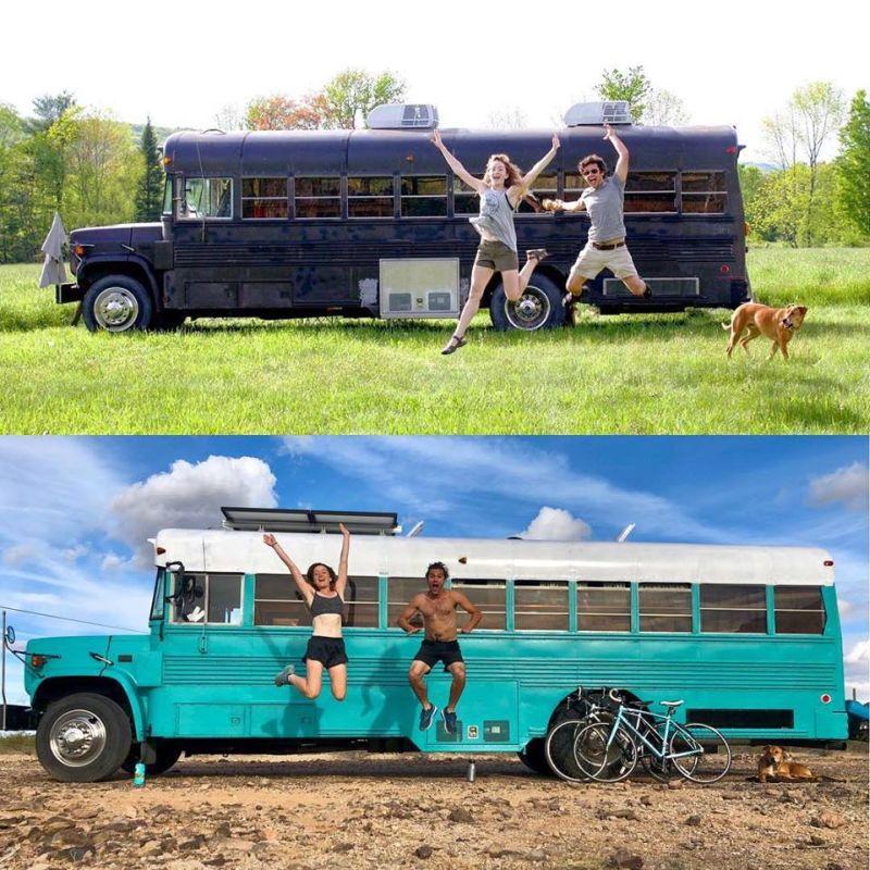 The Wild Drive Life school bus conversion