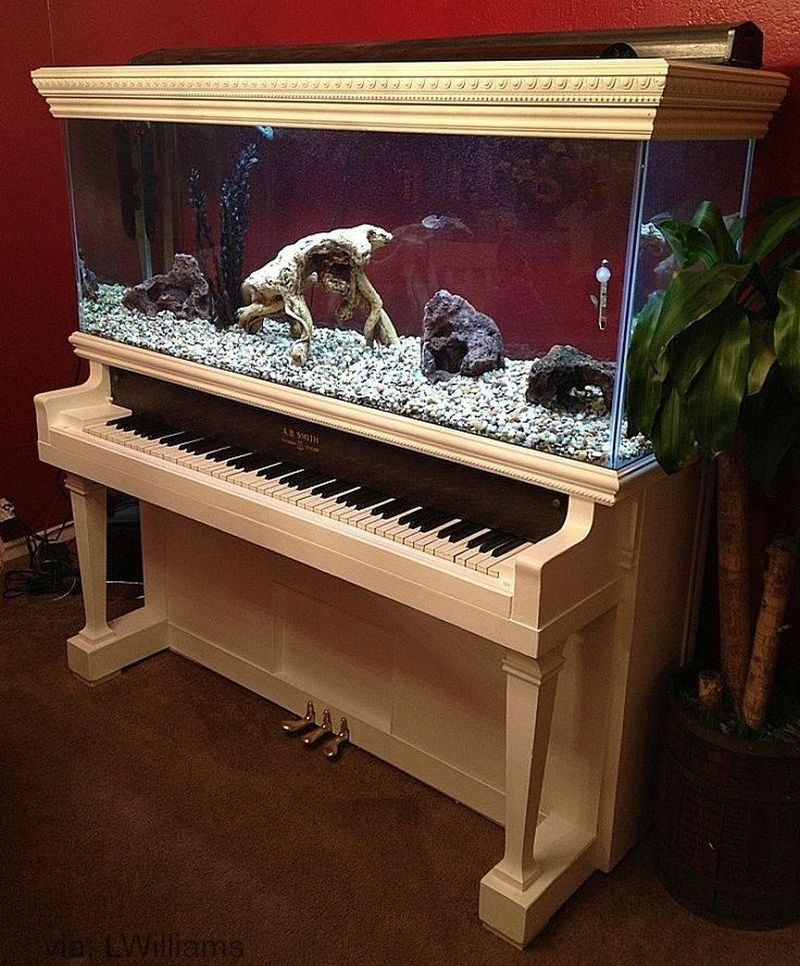 These repurposed old pianos are worthy home décor items for minimalists_12