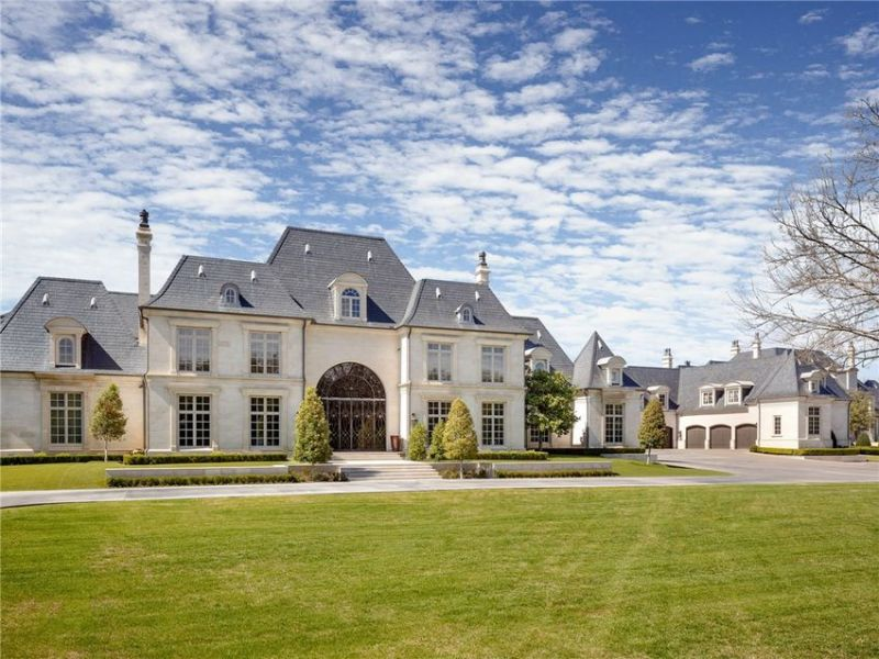 French manor-styled mansion