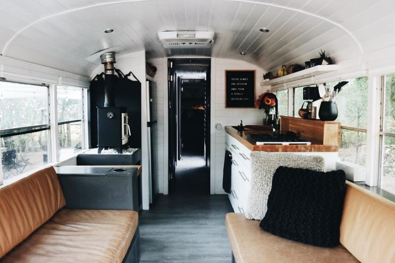 Trebventure School Bus Conversion
