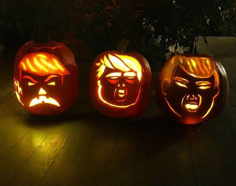 Trumpkins for Halloween 2016_1