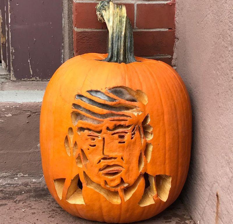 Trumpkins for Halloween 2016_17