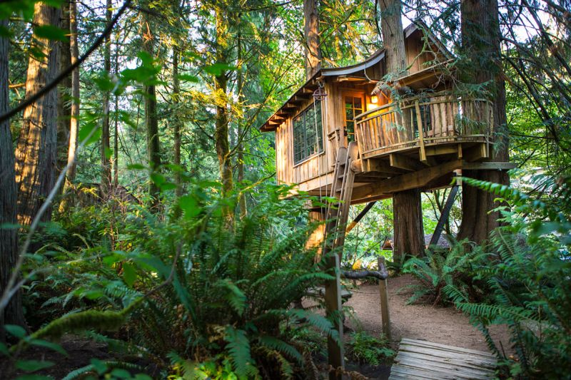 Upper Pond Treehouse at Treehouse Point_2