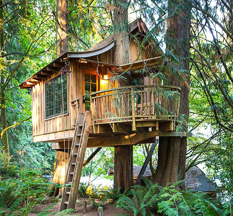 Upper Pond Treehouse at Treehouse Point_3