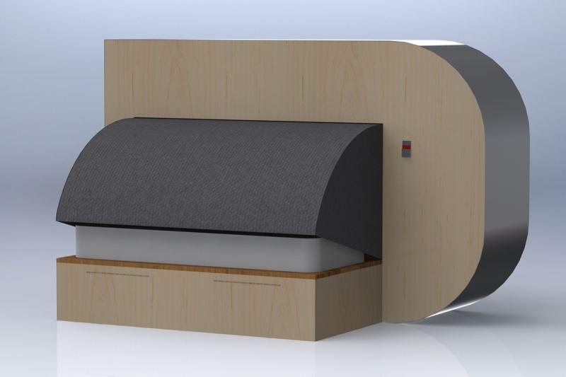 aDream sleep pod by Rafael Martin