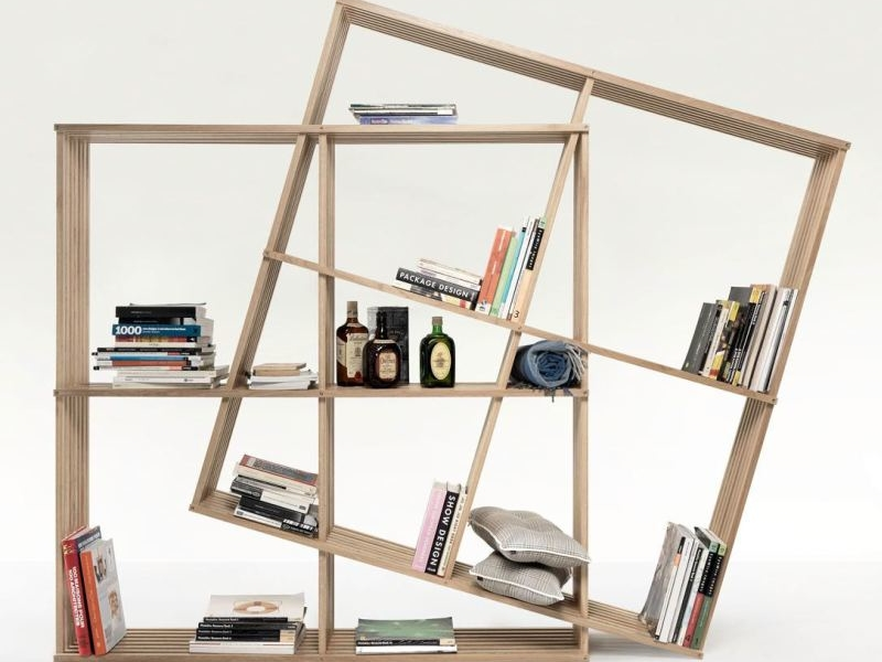 x2 book shelf by Laurindo Marta