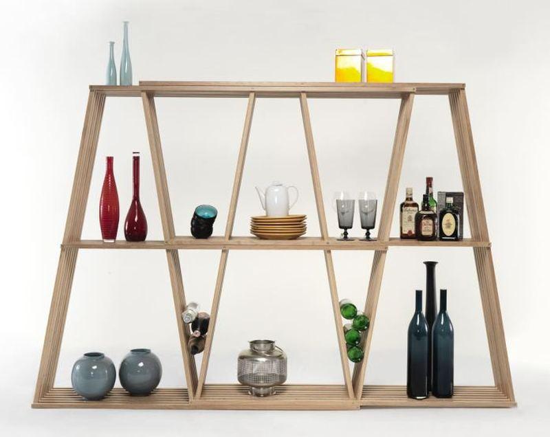 x2 book shelf by Laurindo Marta