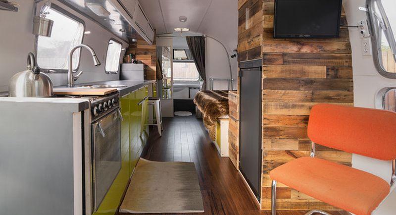1976 Airstream Trailer Tiny Home
