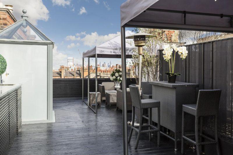 Alexander McQueen's duplex penthouse