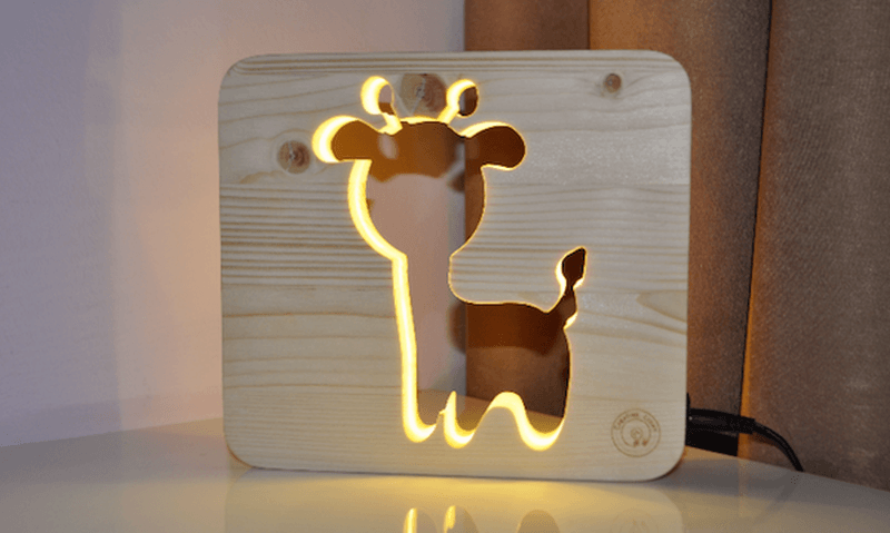Animal shaped night lamps by Designtaxi