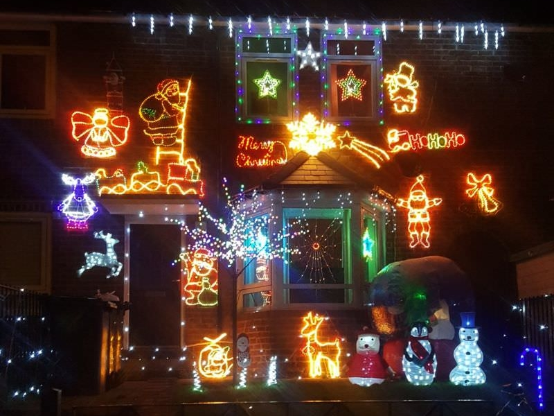 Christmas lightings by Gloria and Andy Garbutt