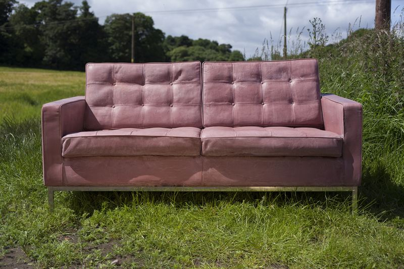 Concrete sofa by Ewan Allan and Four Eight Eight