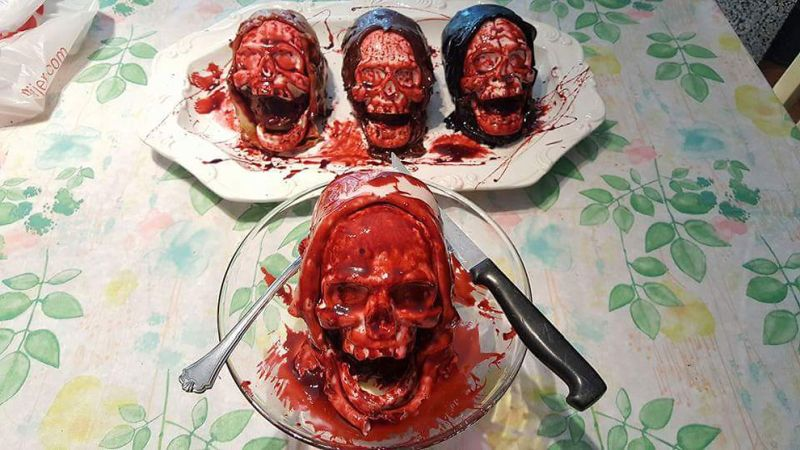Death by Chocolate Autopsy Cake