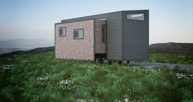 Tiny house with beautiful and spacious interiors