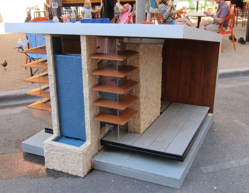 Give your pooch some personal space with a chic dog house