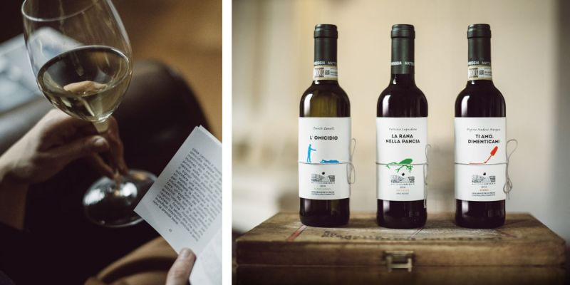 reverse Innovation combines Roero wine collection with classic literature