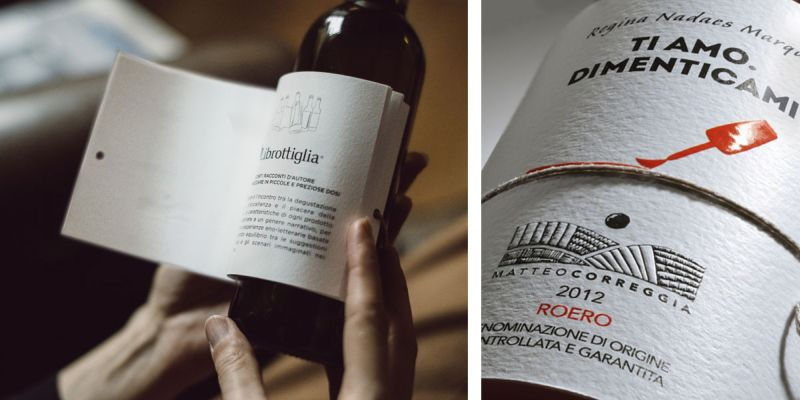 Read mystery, love and tragic stories while drinking wine
